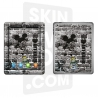 Skincover® Nouvel iPad / iPad 2 - Art Killer