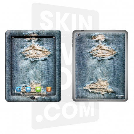 Skincover® Nouvel iPad / iPad 2 - Blue Jeans