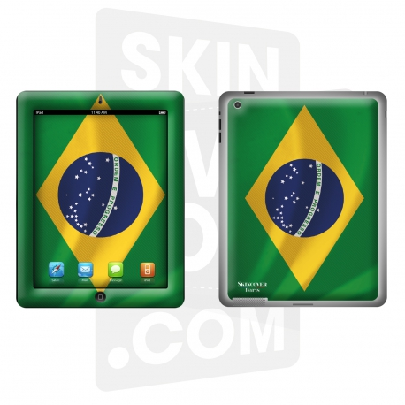 Skincover® Nouvel iPad / iPad 2 - Brazil