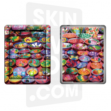 Skincover® Nouvel iPad / iPad 2 - Colorfull