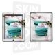 Skincover® Nouvel iPad / iPad 2 - Macaron Flowers