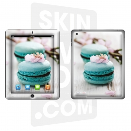 Skincover® Nouvel iPad / iPad 2 - Macaron Flowers