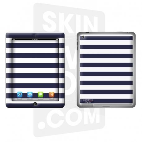 Skincover® Nouvel iPad / iPad 2 - Mariniere