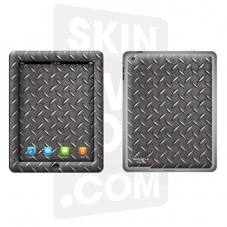 Skincover® Nouvel iPad / iPad 2 - Metal 1