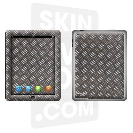 Skincover® Nouvel iPad / iPad 2 - Metal 2