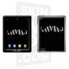 Skincover® Nouvel iPad / iPad 2 - Moustache Zebre Black