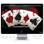 Skincover® iMac 21.5' - 4 Aces