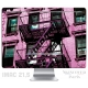 Skincover® iMac 21.5' - Ap'Art Pink By Paslier
