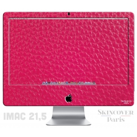 Skincover® iMac 21.5' - Cuir Pink