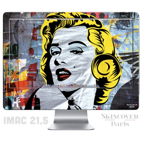 Skincover® iMac 21.5' - Marilyn By Paslier
