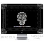 Skincover® iMac 21.5' - Skull & Flower