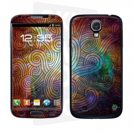 Skincover® Galaxy S4 - Wave Colors
