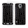 Skincover® Galaxy S5 - Croco Cuir Black