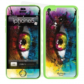 Skincover® iPhone 5C - Requiem By P.Murciano