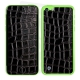 Skincover® iPhone 5C - Croco Cuir Black