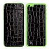 Skincover® iPhone 5C - Croco Cuir Black