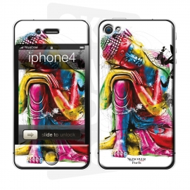 Skincover® iPhone 4/4S - Buddha Feng Shui By P.Murciano
