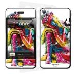 Skincover® iPhone 4/4S - Buddha Feng Shui By P.Murciano