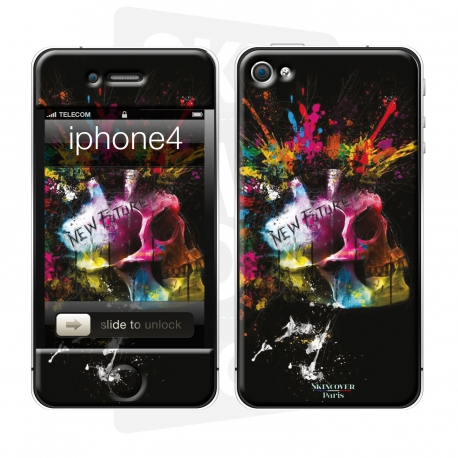 Skincover® iPhone 4/4S - New Future By P.Murciano