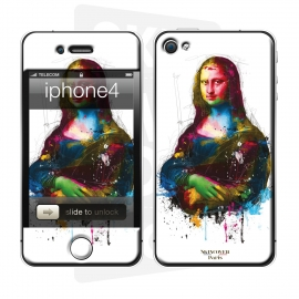 Skincover® iPhone 4/4S - Da Vinci Pop By P.Murciano