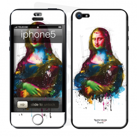 Skincover® iPhone 5 / 5S / 5SE - Da Vinci Pop By P.Murciano