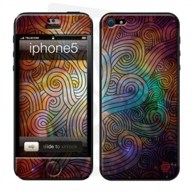 Skincover® Iphone 5/5S - Wave Colors