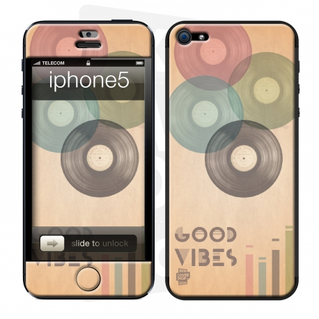 Skincover® iPhone 5 / 5S / 5SE - Good Vibe
