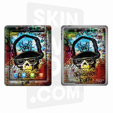 Skincover® Nouvel Ipad / Ipad 2 - Street Color