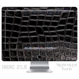 Skincover® iMac - Croco Cuir Black