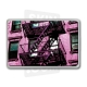 "Skincover® MacBook 13"" - Ap'Art Pink By Paslier"