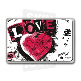 "Skincover® MacBook 13"" - Love & Rock"