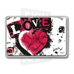 "Skincover® MacBook 13"" - Love & Rock"