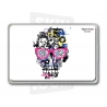 "Skincover® MacBook 13"" - Skull & Art"