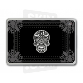 "Skincover® MacBook 13"" - Skull & Flower"