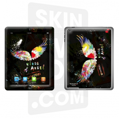 Skincover® Nouvel iPad / iPad 2 - Angel Graffity By Paslier