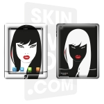Skincover® Nouvel iPad / iPad 2 - Black Swan