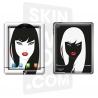 Skincover® Nouvel iPad / iPad 2 - Black Swan