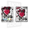 Skincover® Nouvel iPad / iPad 2 - Love & Rock