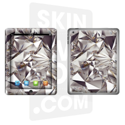 Skincover® Nouvel iPad / iPad 2 - Polygon