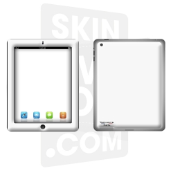 Skincover® Nouvel iPad / iPad 2 - White
