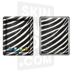 Skincover® Nouvel iPad / iPad 2 - Zebre