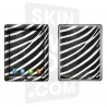 Skincover® Nouvel iPad / iPad 2 - Zebre