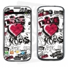 Skincover® Galaxy S3 - Love & Rock