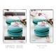 Skincover® iPad Air - Macarons Flowers