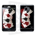 Skincover® Galaxy S2 - 4 Aces