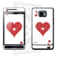 Skincover® Galaxy S2 - Ace Of Heart