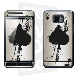 Skincover® Galaxy S2 - Ace Of Spade