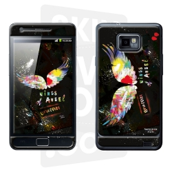Skincover® Galaxy S2 - Angel Graffity By Paslier