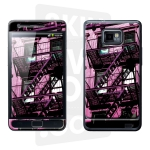 Skincover® Galaxy S2 - Ap'Art Pink By Paslier