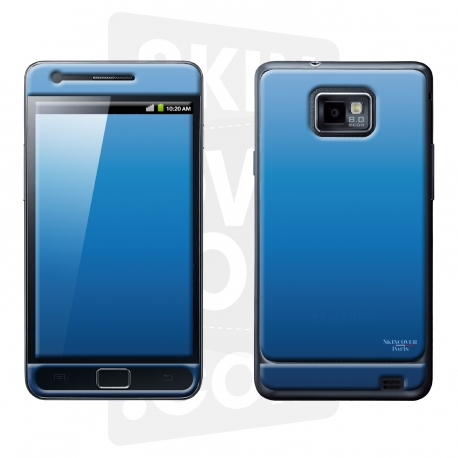 Skincover® Galaxy S2 - Blue